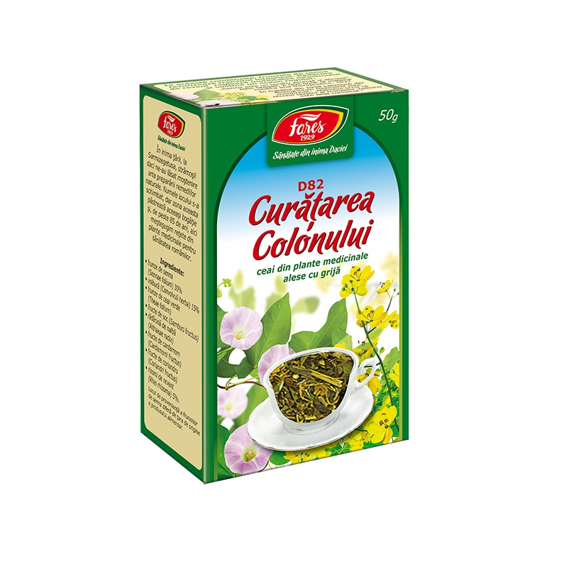 ceai fares detoxifierea colonului vaccino ex hpv