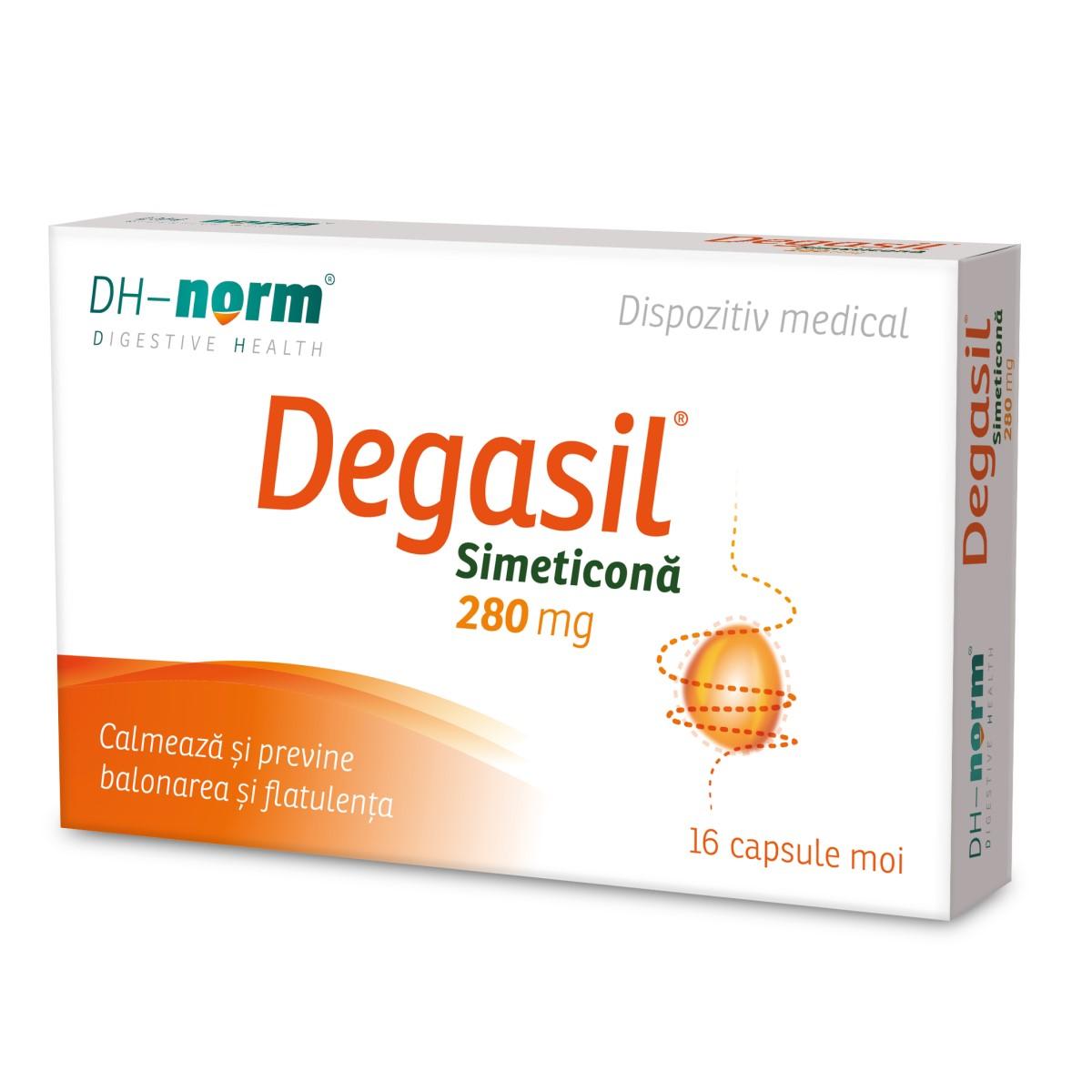 Degasil, 16 capsule, Walmark