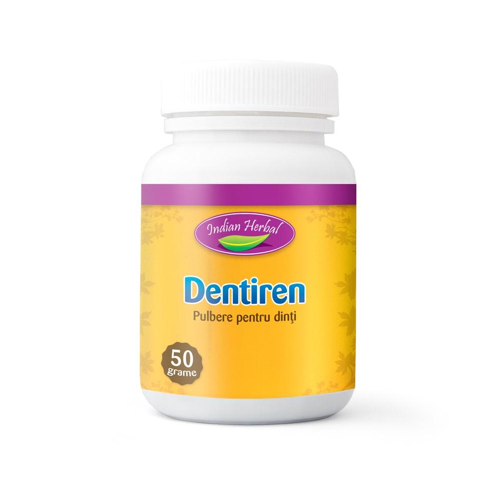 Dentiren pulbere pentru dinți, 50 gr, Indian Herbal