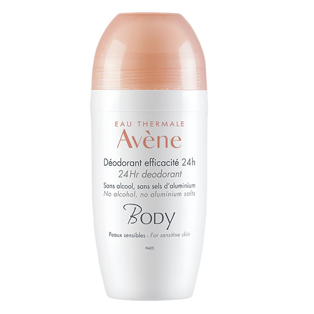 Deodorant roll-on pentru piele sensibila, 50 ml, Avene Body