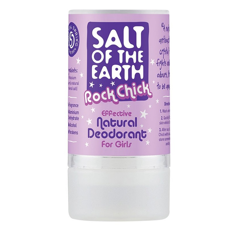 Deodorant stick natural Salt Of The Earth Rock Chick, 90 g, Crystal Spring