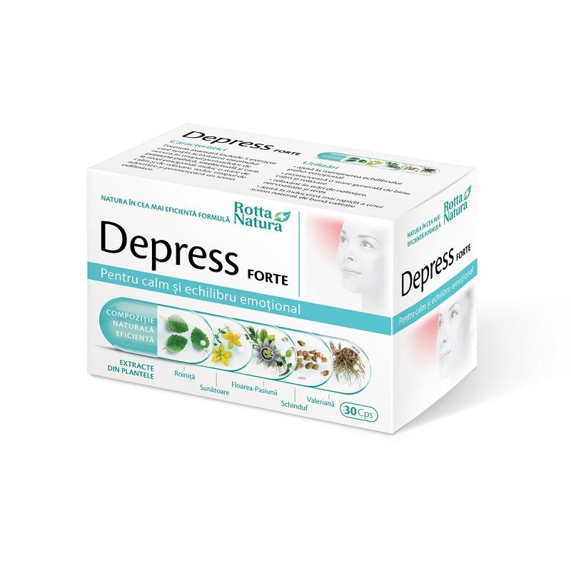 Depress Forte , 30 capsule, Rotta Natura