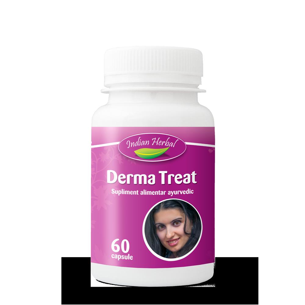 Derma Treat, 60 capsule, Indian Herbal