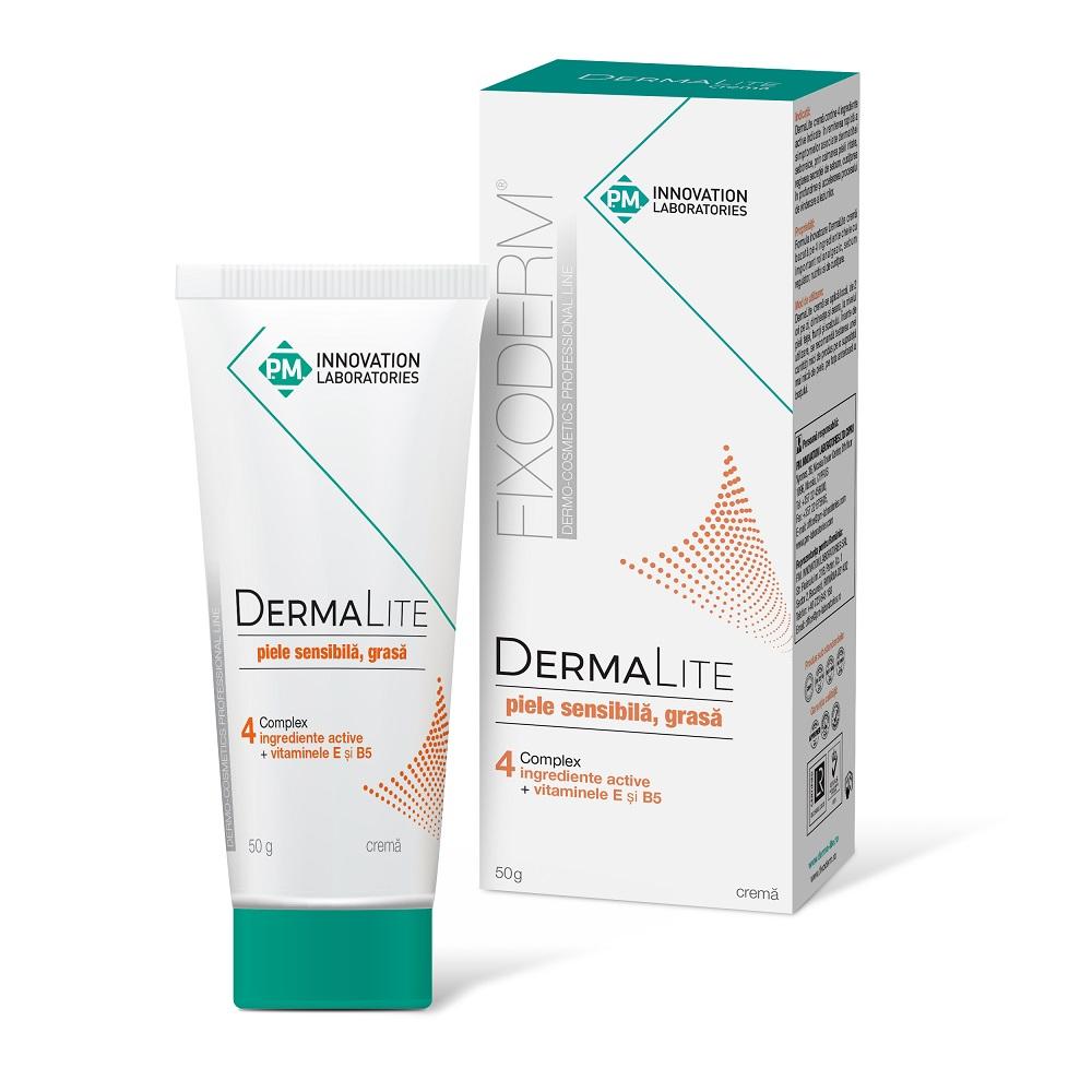 DermaLite cremă piele sensibilă, grasă, 50 g, P.M Innovation Laboratories