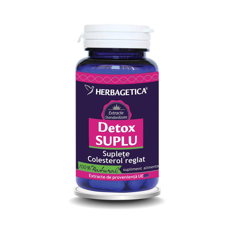 Detox Suplu, 60 capsule, Herbagetica
