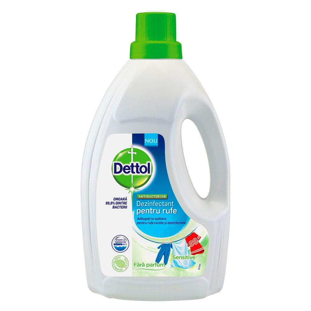 Dezinfectant pentru rufe Sensitive, 1500 ml, Dettol