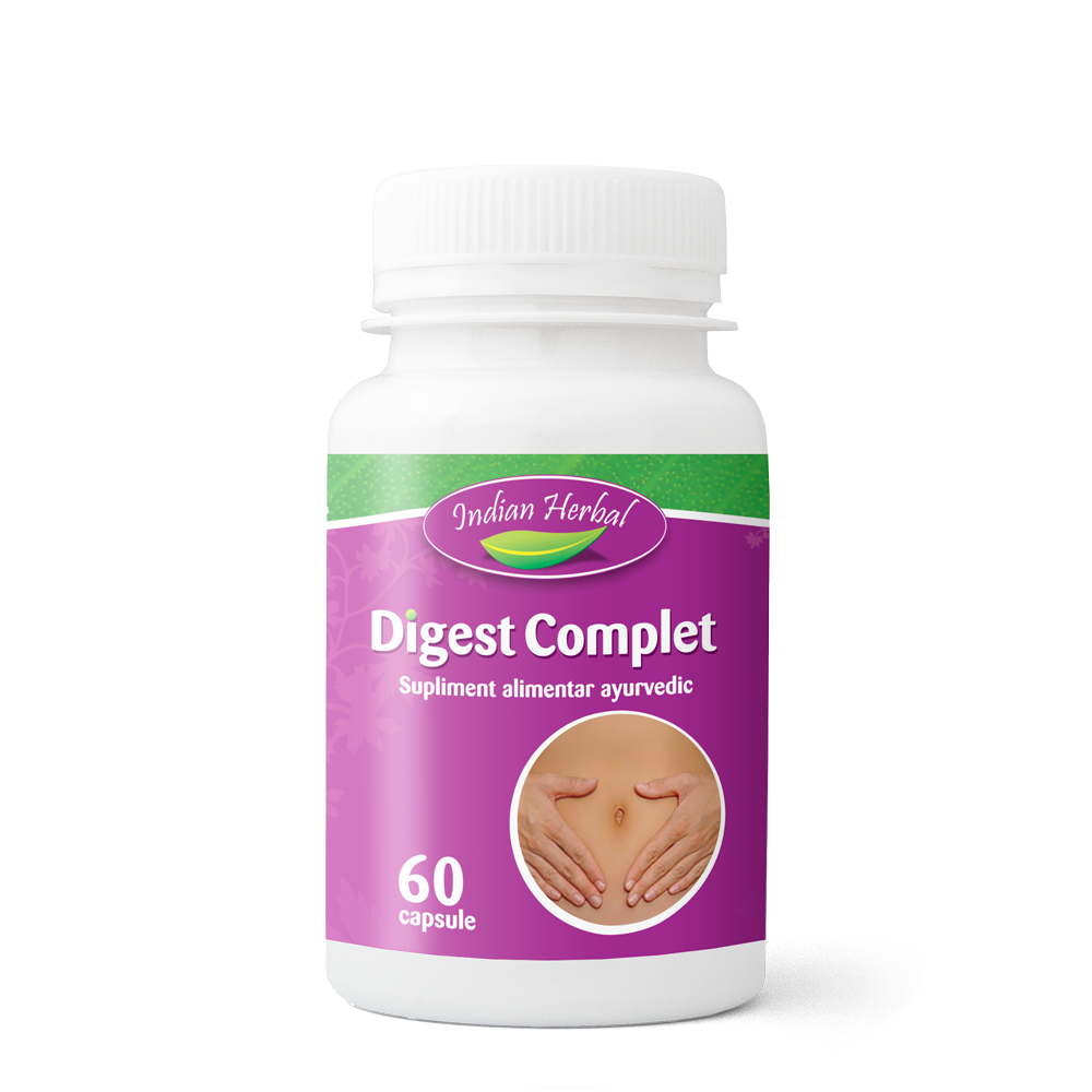 Digest Complet, 60 capsule, Indian Herbal