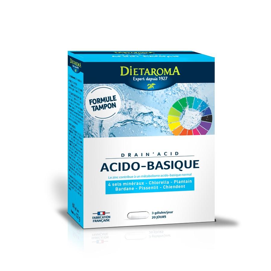 Drain Acid, 60 capsule, Laboratoires Dietaroma