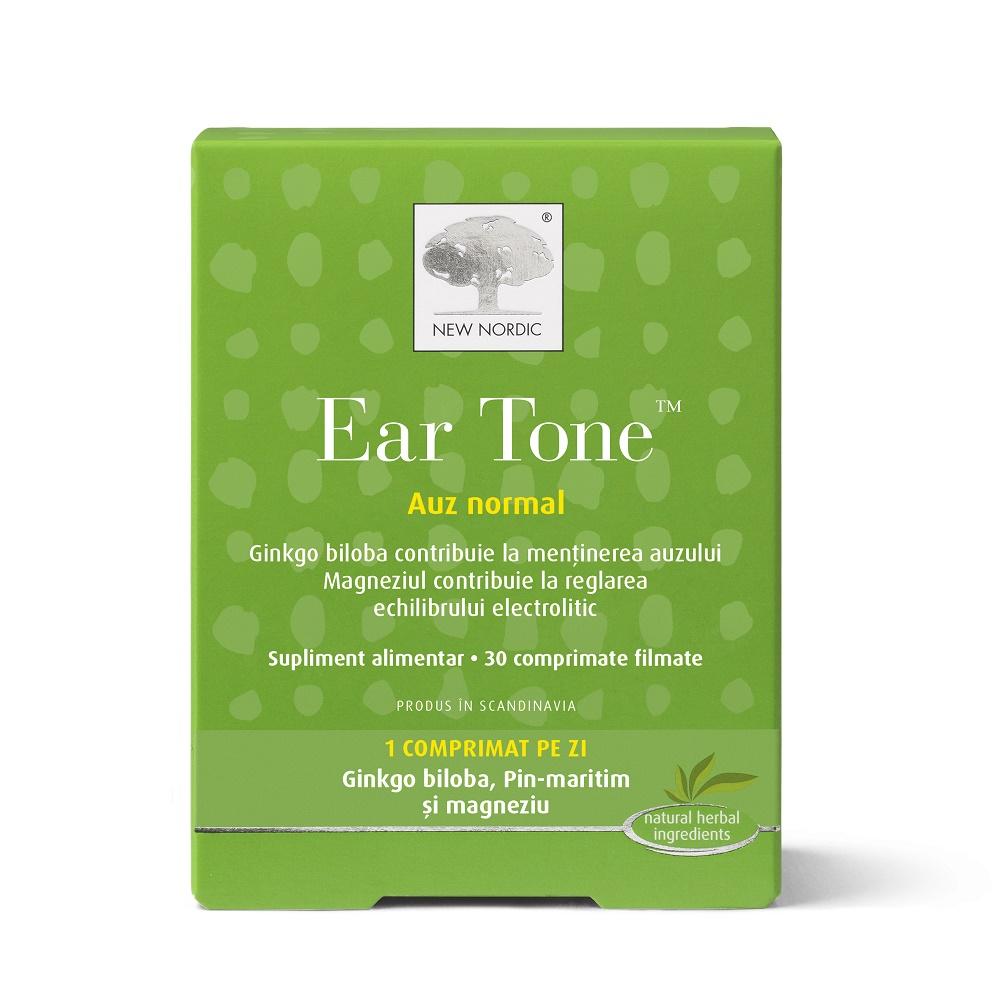 Auz normal Ear Tone, 30 comprimate filmate, New Nordic