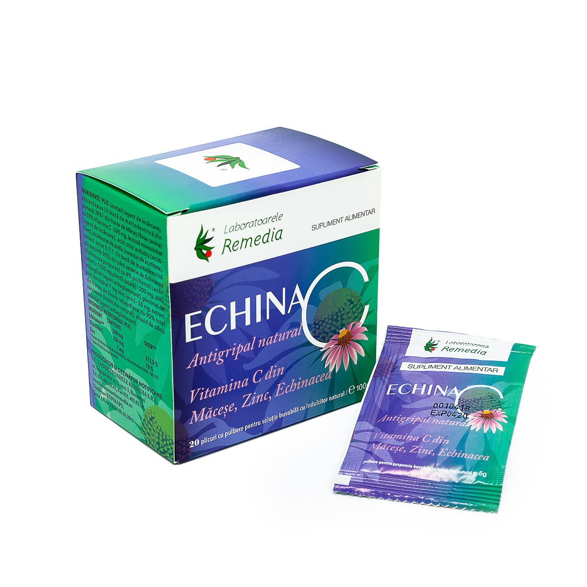 Echina-C, 20 plicuri, Remedia