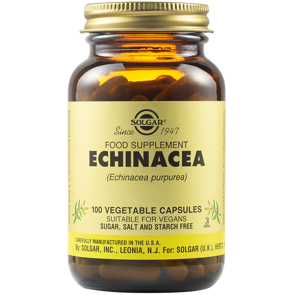 Echinacea, 100 capsule, Solgar