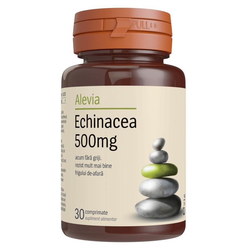 Echinacea 500 mg, 30 comprimate, Alevia