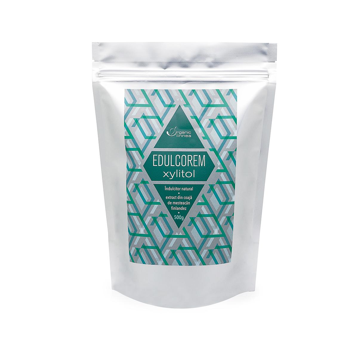 Edulcorem Xylitol Green Sugar, 500 g, Remedia