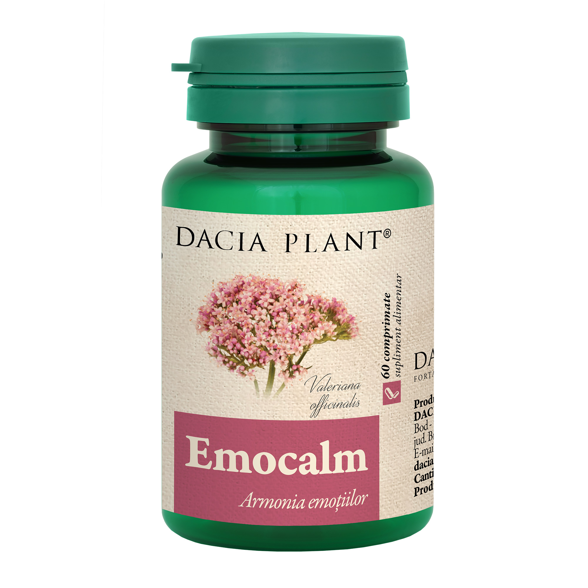Emocalm, 60 comprimate, Dacia Plant