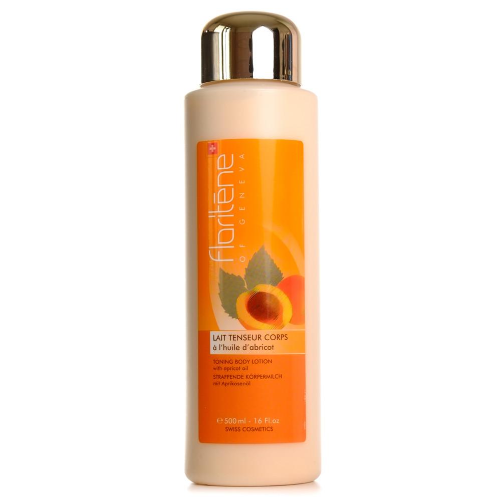 Emulsie corporala cu ulei de caise, 500 ml, Floritene