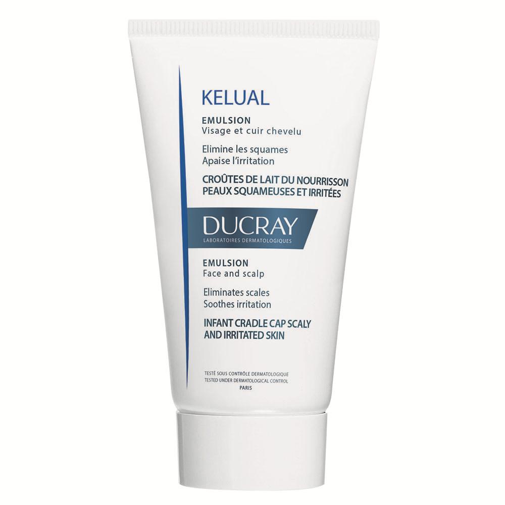 Emulsie kerato-reductoare pentru cruste de lapte sau piele cu scoume Kelual, 50 ml, Ducray