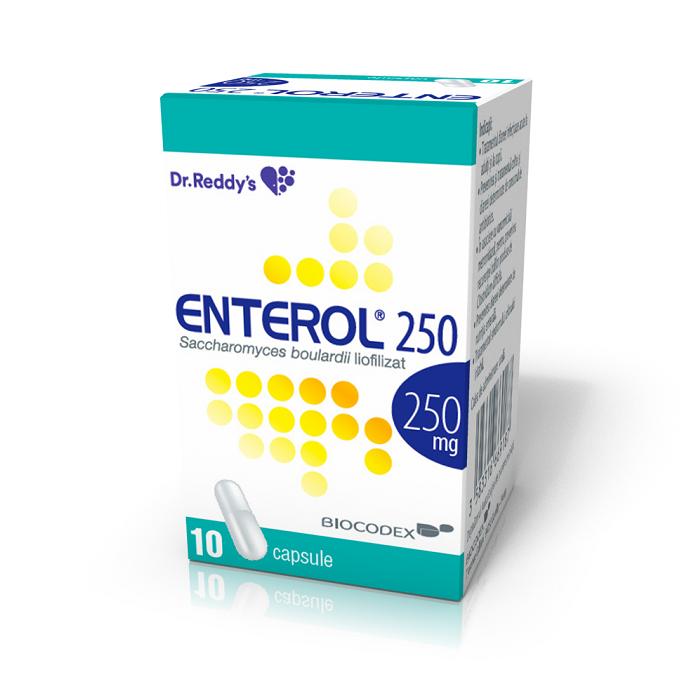 Enterol 250 mg, 10 capsule, Dr. Reddys