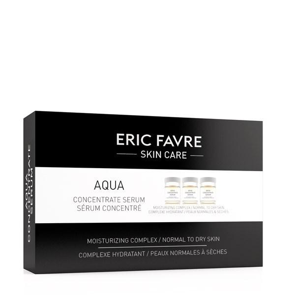 Ser hidratant concentrat Aqua, 10 fiole, Eric Favre Wellness