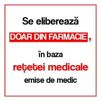 Eritromicină, 200 mg, 20 comprimate, Antibiotice SA