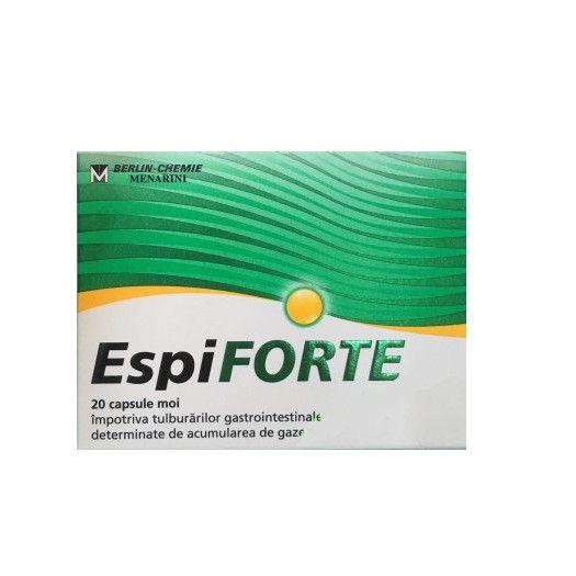 EspiFORTE 140 mg, 20 capsule, Berlin-Chemie Ag