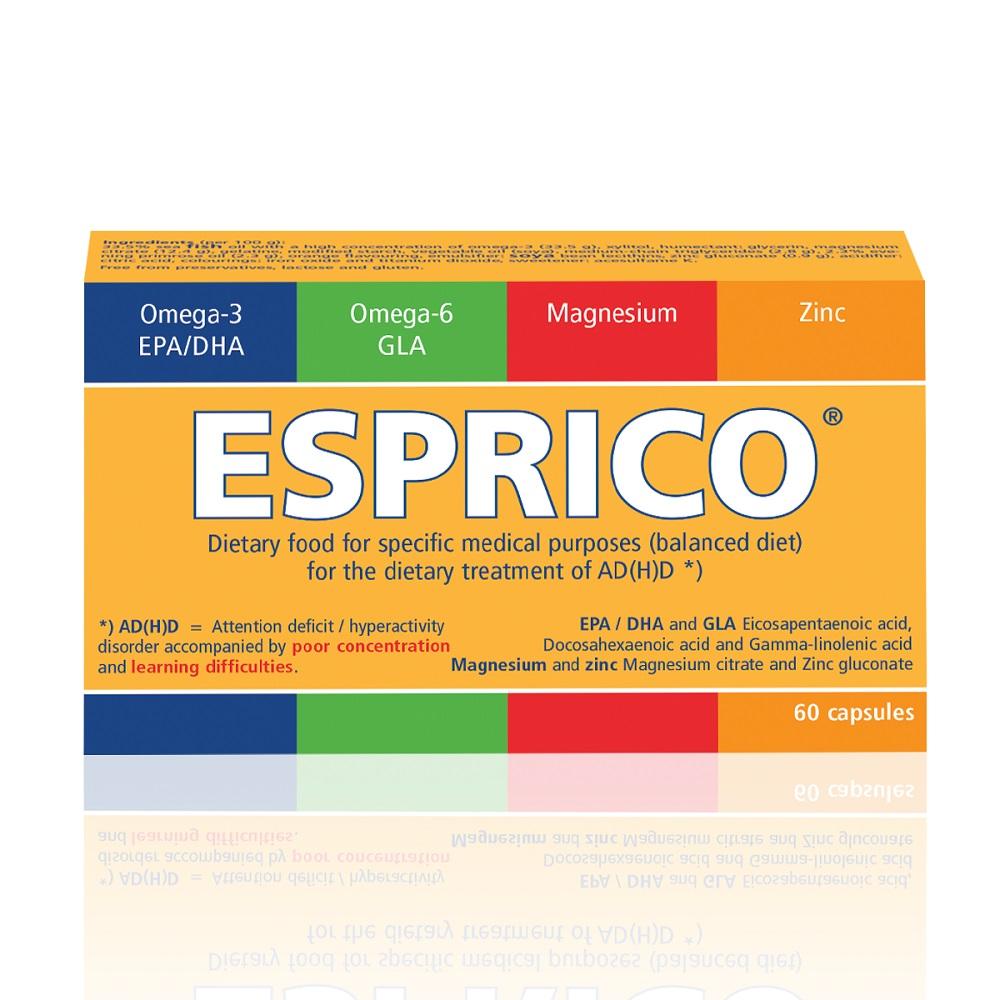 Esprico, 60 capsule, Engelhard Arzneilmittel