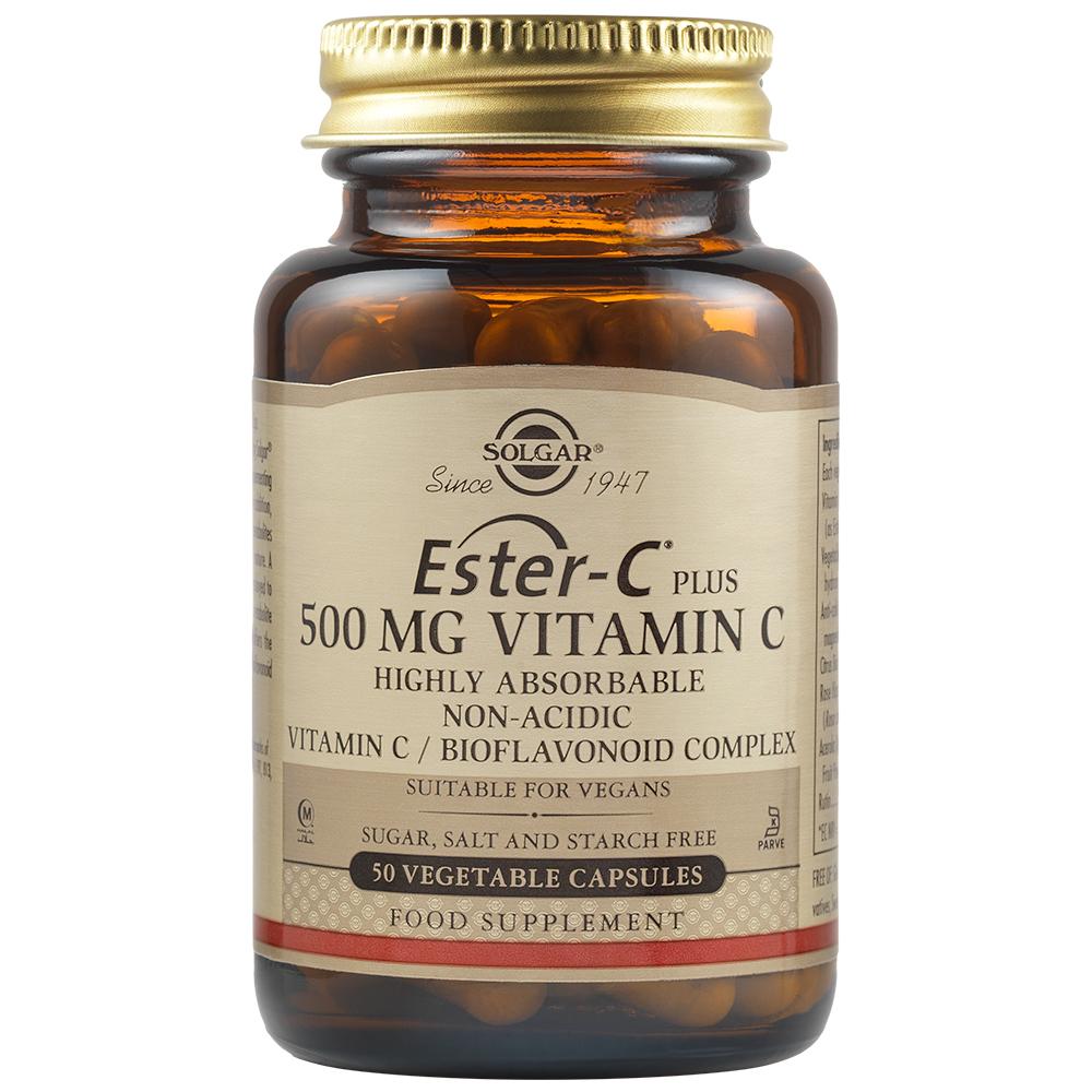 Ester-C Plus 500 mg, 50 capsule, Solgar