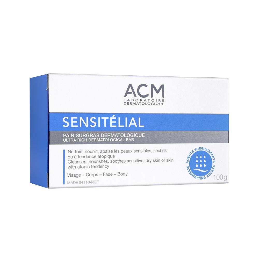 Săpun dermatologic nutritiv Sensitelial, 100 g, Acm