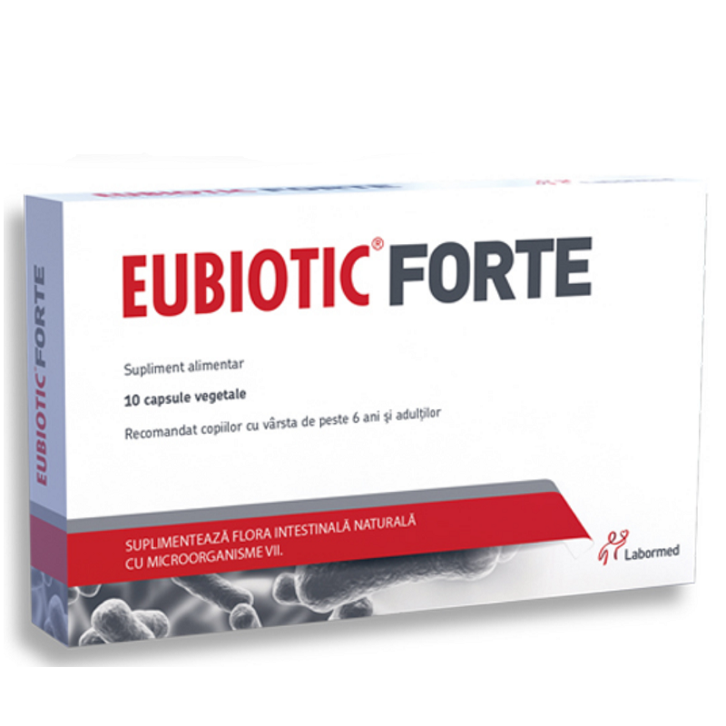Eubiotic Forte, 10 capsule vegetale, Labormed