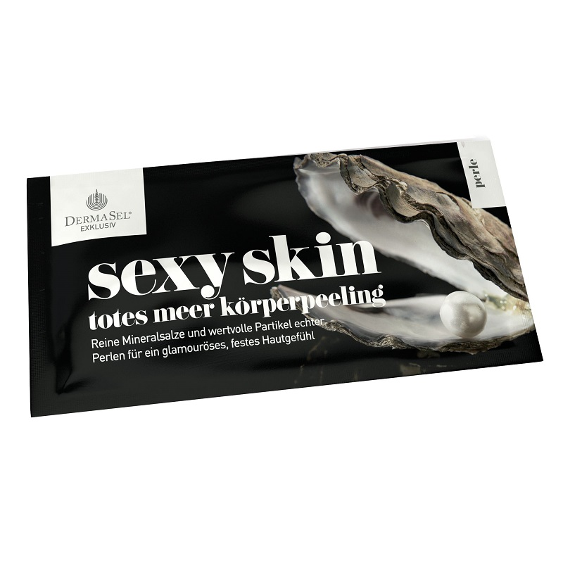 Exfoliant corporal cu perle si saruri de la Marea Moarta Exklusiv, 38 ml, DermaSel