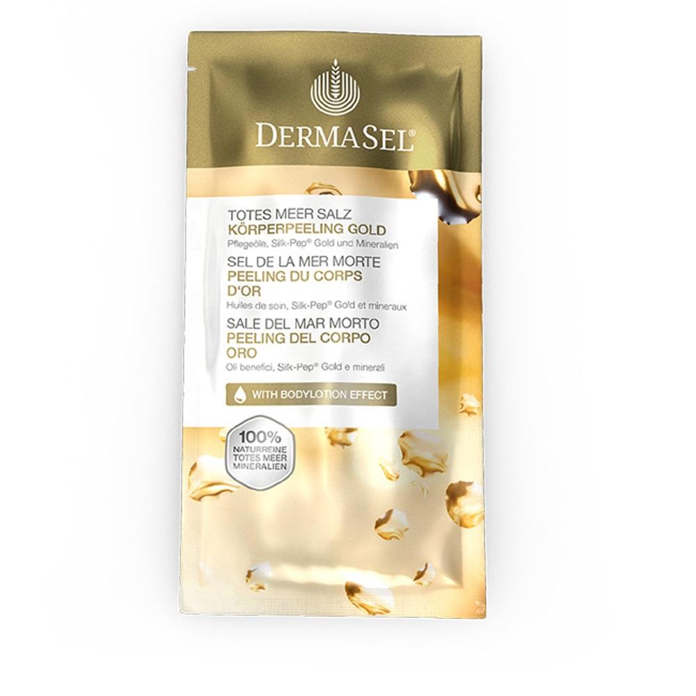 Exfoliant de corp cu aur si saruri de la marea moarta Sexy Skin Exklusiv, 38 ml, DermaSel