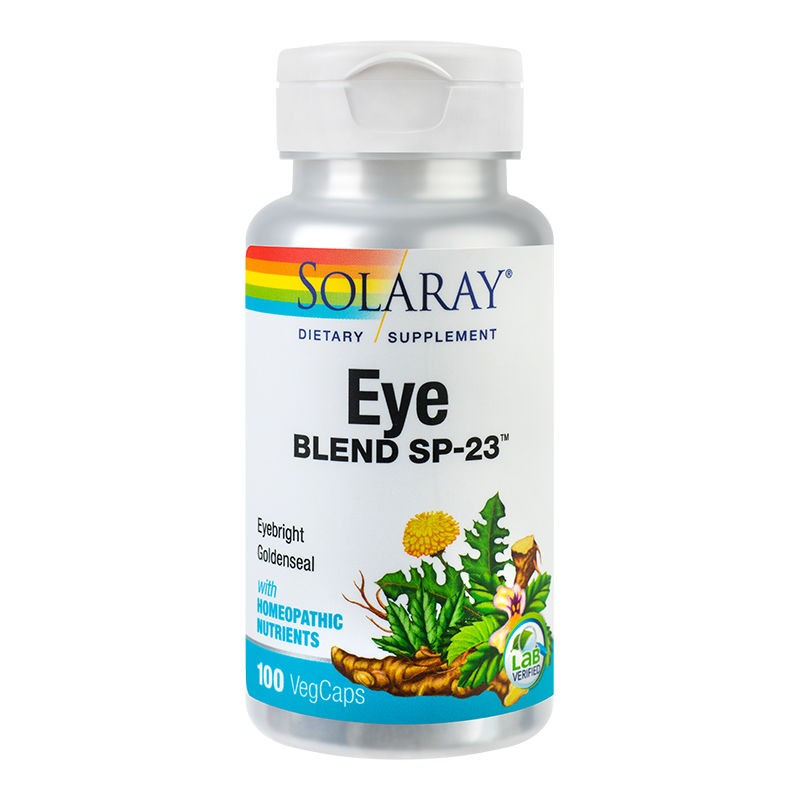 Eye Blend Solaray, 100 capsule, Secom