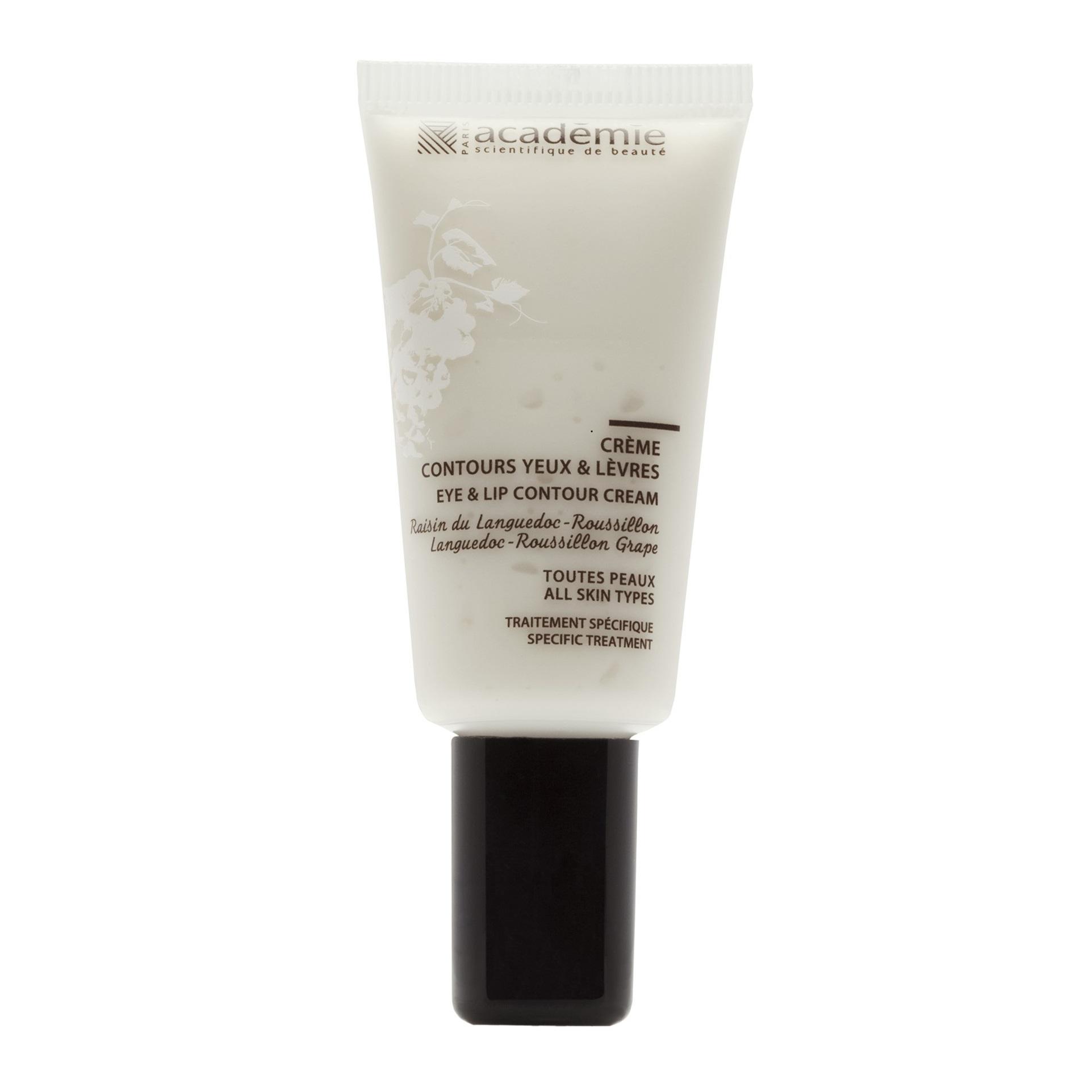 Crema cu tripla actiune pentru ochi si buze Aromatherapie, 15 ml, Academie