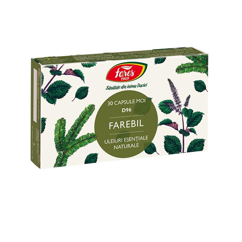 Farebil, D96, 30 capsule, Fares