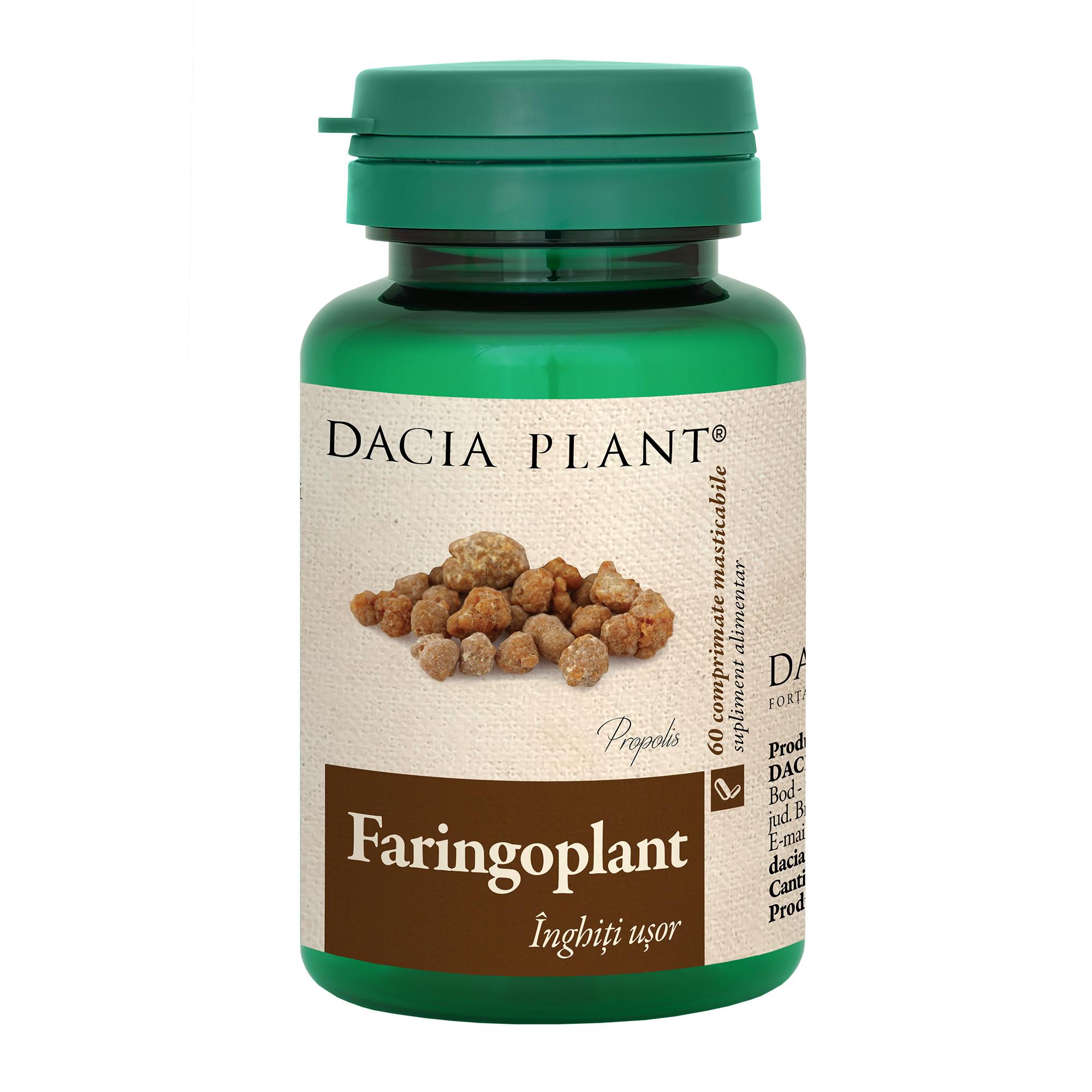 Faringoplant, 60 comprimate, Dacia Plant