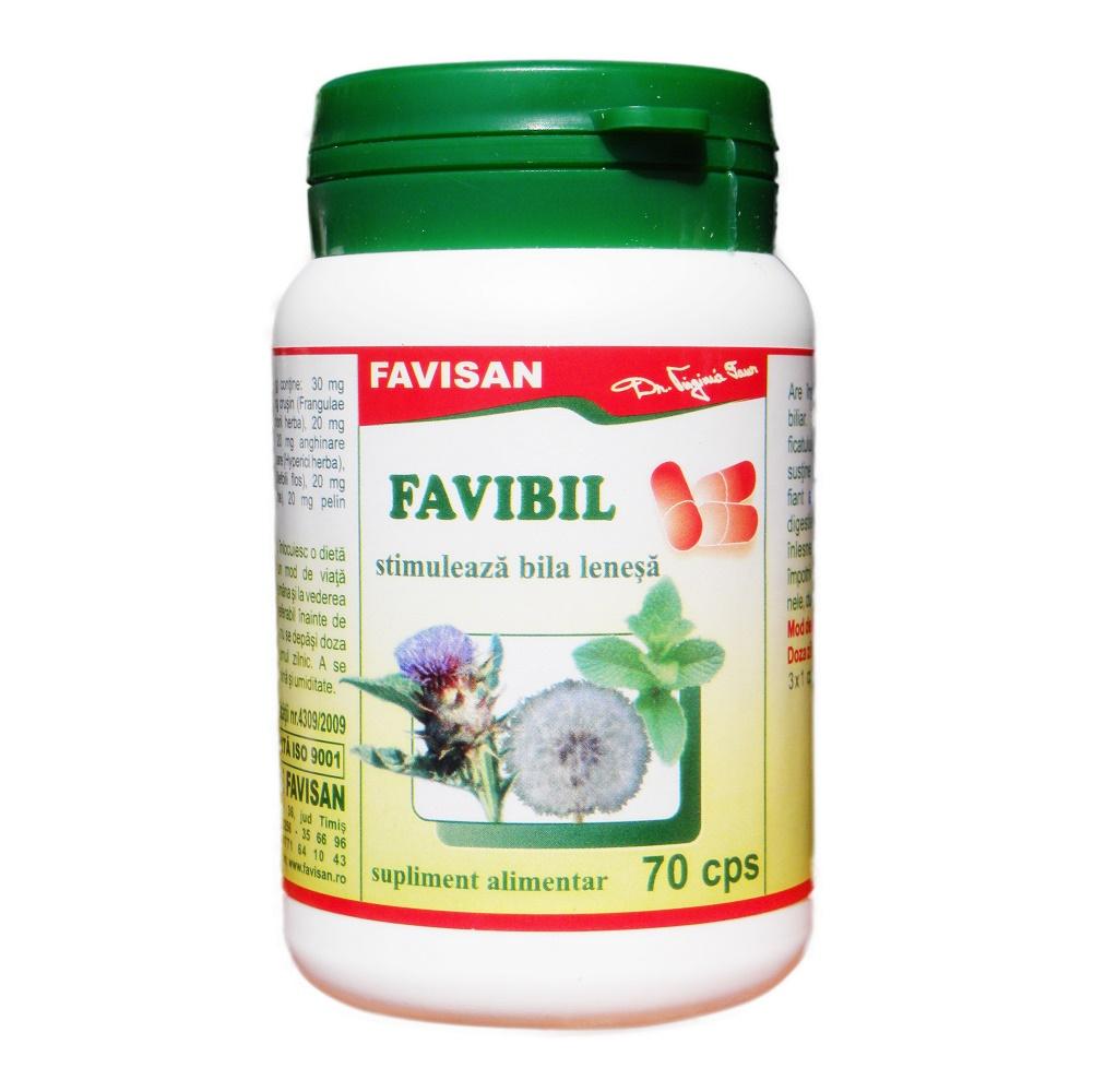 Favibil, 70 capsule, Favisan