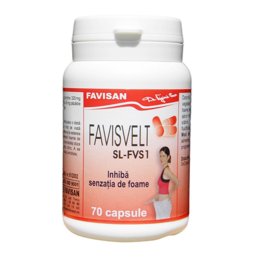 Favisvelt SL-FVS1, 70 capsule, Favisan