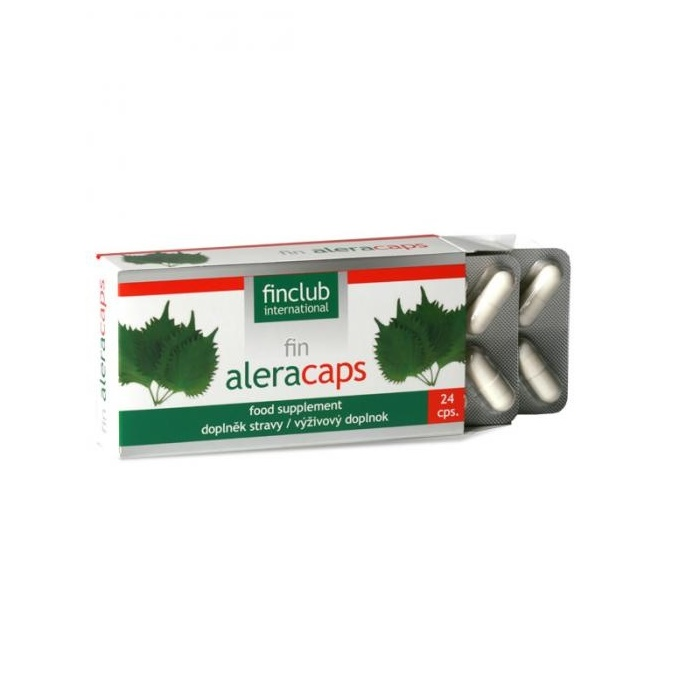 Fin Aleracaps, 24 capsule, Finclub