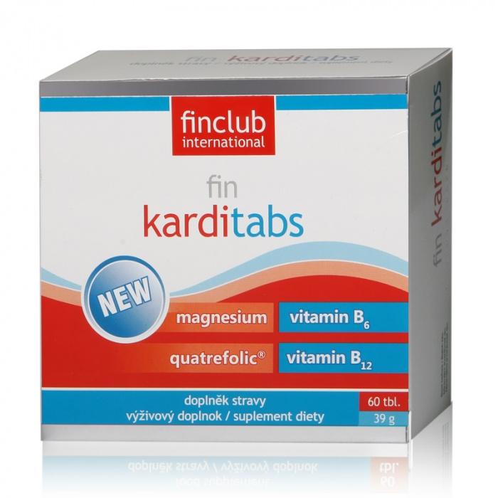 Fin Karditabs, 60 tablete, Finclub