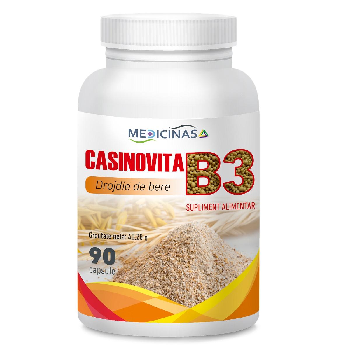 Casinovita B 3, 90 capsule, Medicinas