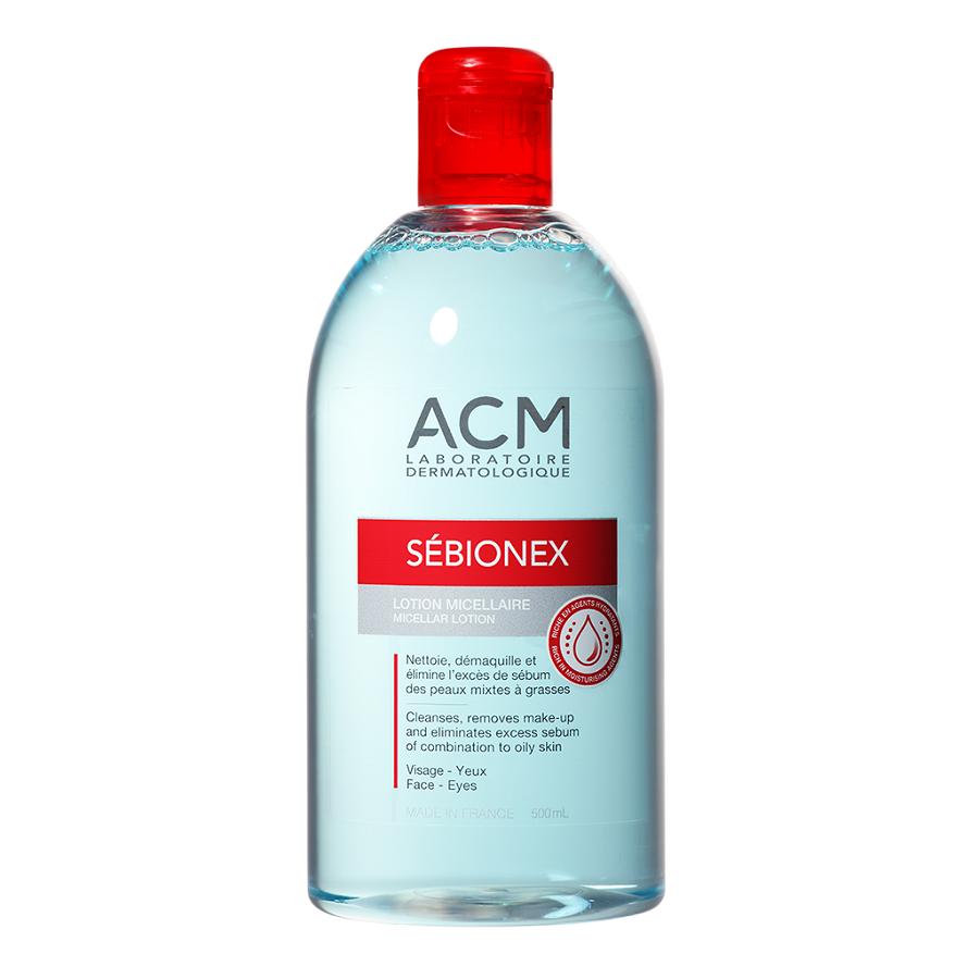 Loțiune micelară Sebionex, 500 ml, Acm