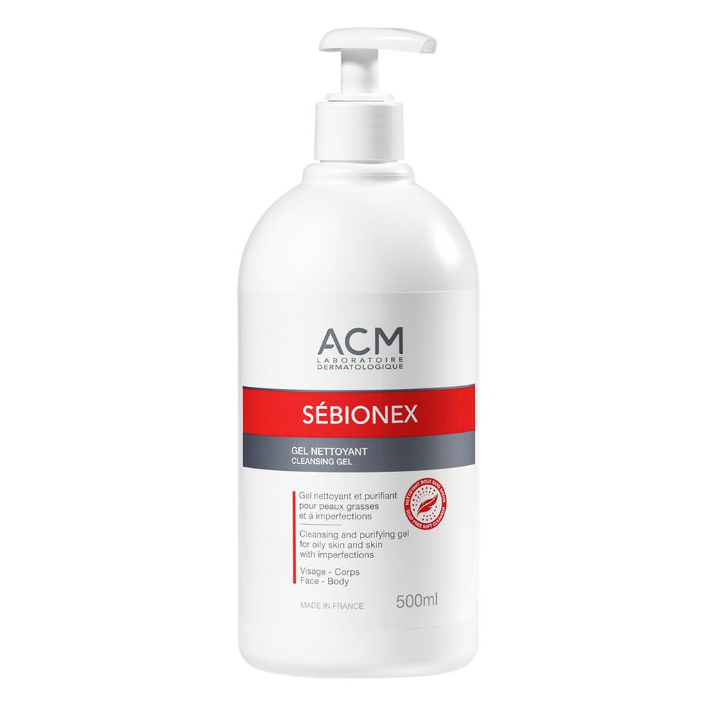 Gel de curățare purifiant Sebionex, 500 ml, Acm