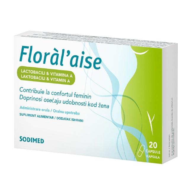 Floral Aise, 20 capsule, Biessen Pharma