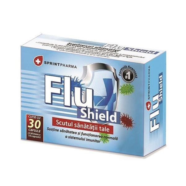 Flu Shield, 30 capsule, Sprint Pharma