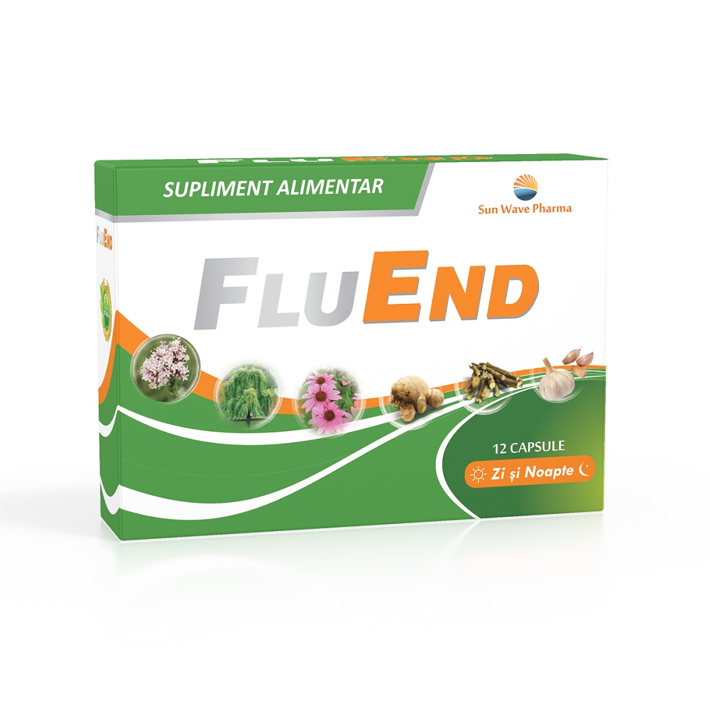 FluEnd, 12 capsule, Sun Wave Pharma
