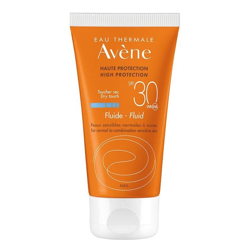 Fluid pentru protectie solarae SPF 30, 50 ml, Avene