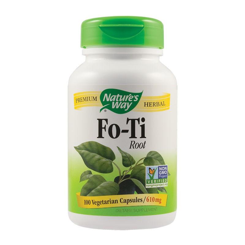 Fo-Ti Root 610mg Nature's Way, 100 capsule, Secom