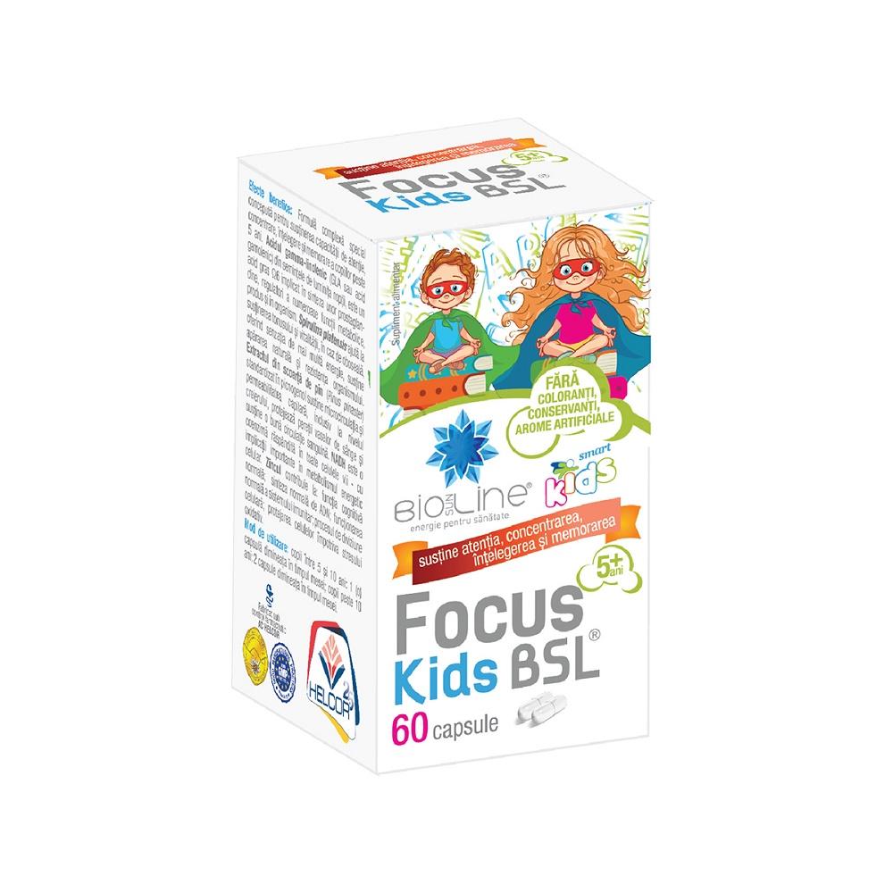 Focus Kids BSL, 60 caspule, Helcor