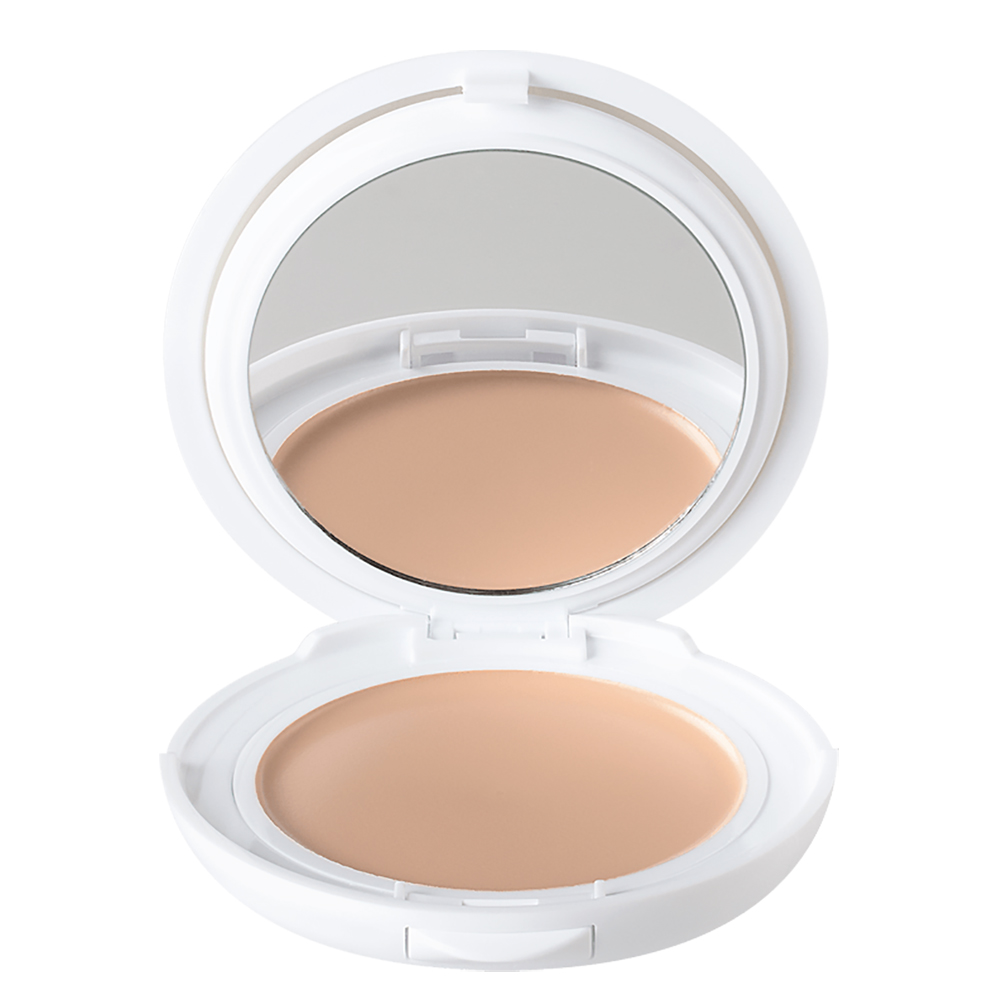 Fond de ten compact pentru ten normal-mixt cu SPF 30 Couvrance, Porcelaine 1.0, 10 g, Avene