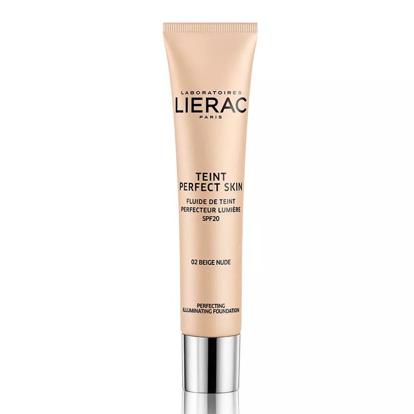 Fond de ten iluminator cu SPF 20,Tein Perfect Skin 02 Nude Beige, 30 ml, Lierac