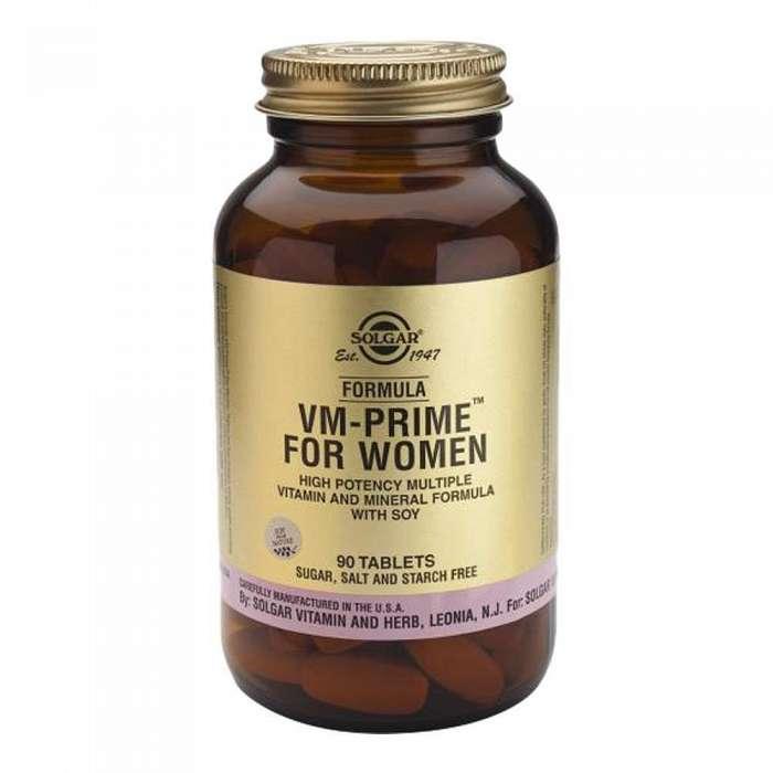 Formula VM Prime for Women, 90 tablete, Solgar